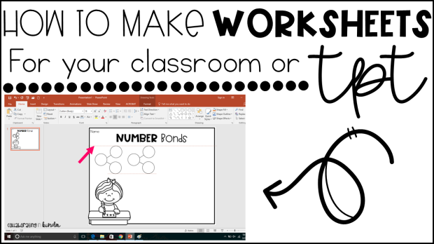 How To Make Worksheets For Your Classroom Or TeacherPayTeachers – How to Make Worksheets
